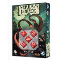 Set de dados Malditos de Arkham Horror (rojo)