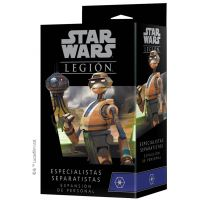 Star Wars Legión: Especialistas Separatistas expansión de personal