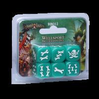 Rum & Bones - Set de dados Hermandad de Wellsport
