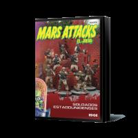 Soldados estadounidenses - Mars Attacks
