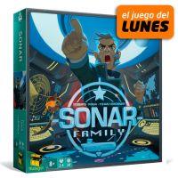 Sonar Family es un juego de mesa familiar en el que tendréis que formar dos equipos y coordinaros para descubrir dónde se encuentra el submarino enemigo.