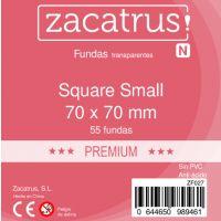 Fundas Zacatrus Square S premium (Cuadrada Pequeña) (55 unidades)