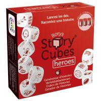 Story Cubes Heroes juego de dados para dejar volar la imaginación