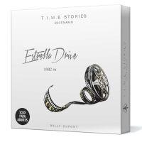 T.I.M.E STORIES Estrella Drive es un juego de mesa narrativo dentro de la saga de TIME Stories