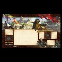 Juego de tronos LCG: Tapete de juego Caballeros del reino