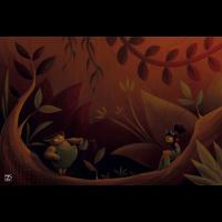 Tapete de neopreno Bosque de Zacatrus para darle un toque elegante a tus partidas