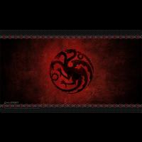 Tapete de Juego de Tronos: Casa Targaryen