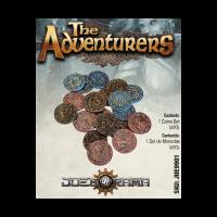The Path of Adventurers - Set de 20 Monedas de Metal