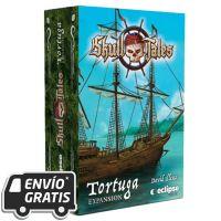 Tortuga, la expansión de Skull Tales ¡A toda vela! el juego de mesa.