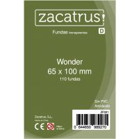 Fundas Zacatrus Wonder (65 mm X 100 mm) (110 uds)