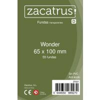 Fundas Zacatrus Wonder (65 mm X 100 mm) (55 uds)