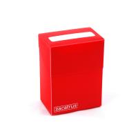 Zacadeck de Zacatrus en rojo para cartas