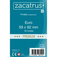Fundas Zacatrus Euro Premium (59 mm X 92 mm) (55 uds)