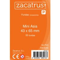 Fundas Zacatrus Mini Asia (43 mm X 65 mm) (55 uds)