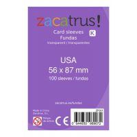 Fundas Zacatrus USA (56 mm X 87 mm) (100 uds)