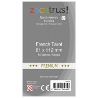 Fundas Zacatrus French Tarot premium (61x112mm) (50)