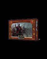 Canción de hielo y fuego el juego de miniaturas: Alabarderos Lannister