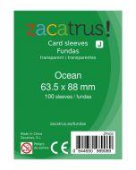 Fundas Zacatrus Ocean (Standard: 63,5 mm x 88 mm) (100 uds)