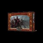 Canción de hielo y fuego el juego de miniaturas: Alabarderos Lannister Juego de mesa